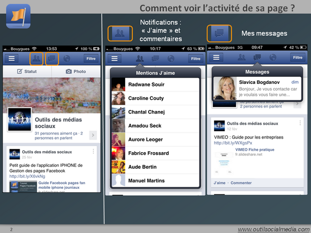Comment lire ses notifications et ses messages
