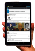 Tablette Android LinkedIn